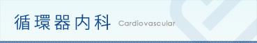 循環器内科:cardiovascular